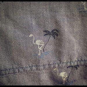 Vans Shirts - Vans Short-sleeve Shirt w. Skelly Flamingos 🌴💀